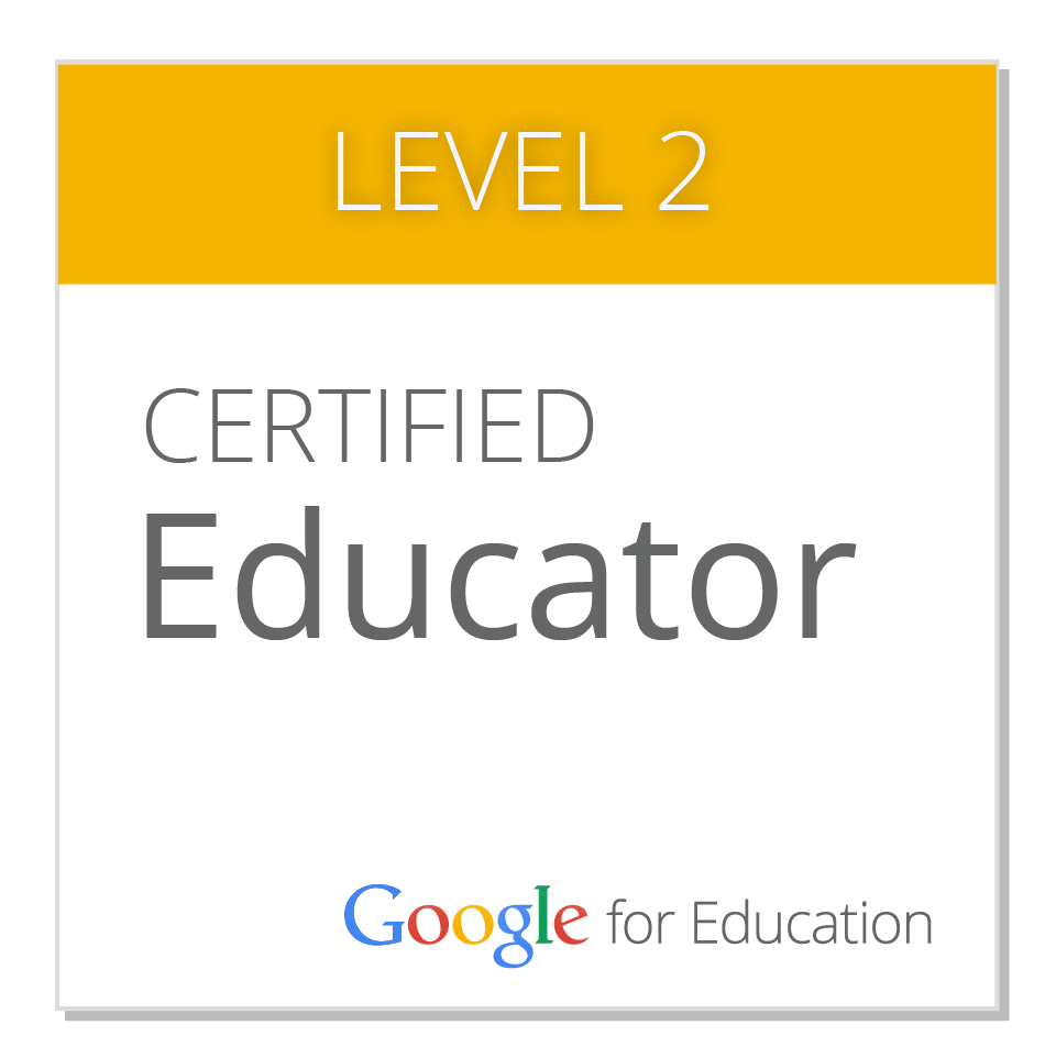 Level 2 Google Certified Educator Badge