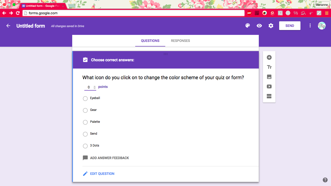Google Forms Update: Self-Grading Quizzes!