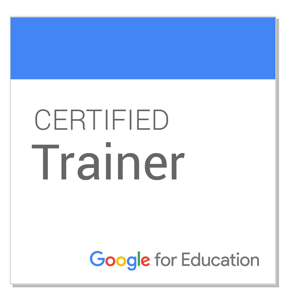 Google for Education Certified Trainer Badge